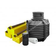 Oczyszczalnia na pakietach OP-1000/2 PD (2-3 osób)