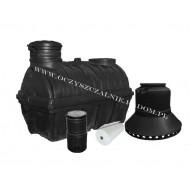 Oczyszczalnia na studni chłonnej OP-3000/7 StCh (7 osób)